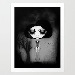 Dark Watter Art Print