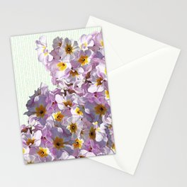 In the land of green and pink Stationery Cards