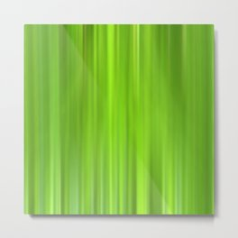green grass abstract VII Metal Print