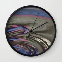 Blue Opal Wall Clock