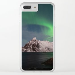 Luck & Patience in the Arctic Clear iPhone Case