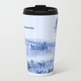 Lake Champlain 1850 (Cyan Blue) Travel Mug