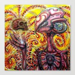 Imagining Cro magnon  Canvas Print