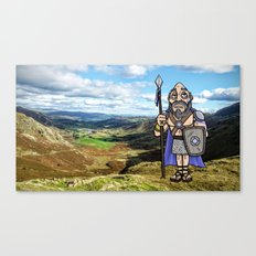 Carlin the Caledonian #2 Canvas Print