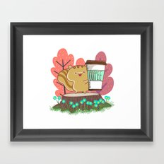 The Quest For A Perfect Cup Of Coffee Framed Art Print