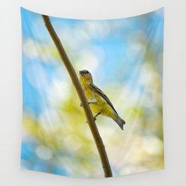 Yellow Bird - III Wall Tapestry