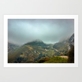 Peaks of Europe Art Print
