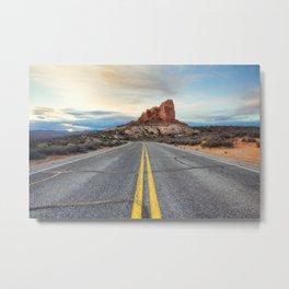 Sunrise, Arches National Park Metal Print
