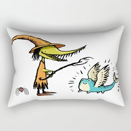 Gretch, maker of creatures Rectangular Pillow