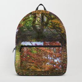 Autumn Bench Backpack