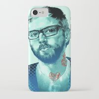 dallas iPhone & iPod Cases featuring Dallas Green by Copper Crown Art