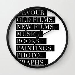 Devour culture Wall Clock