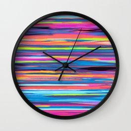 SWEET STRIPE Wall Clock