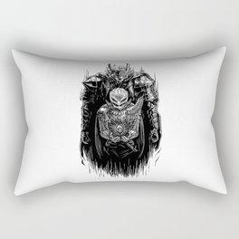 Black Swordsman Rectangular Pillow