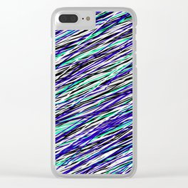 Seahawk Pride Clear iPhone Case