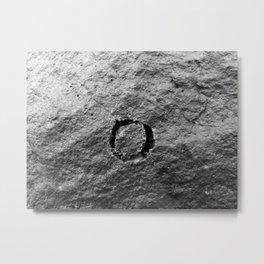 O the rock Metal Print