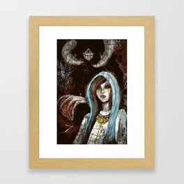 A Cautionary Tale for Young Deities Framed Art Print