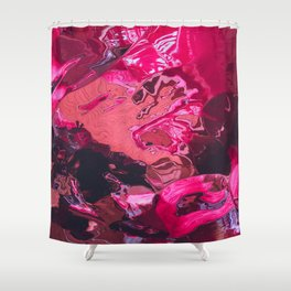 fifty shades of pink Shower Curtain