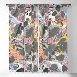 Electric Dreamwaves Blackout Curtain