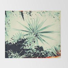 Abstract Urban Garden Throw Blanket
