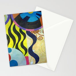 Abstract Composition 416 Stationery Cards