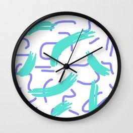 BLUE ISH Wall Clock