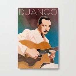 Django Reinhardt – Jazz Manouche Metal Print