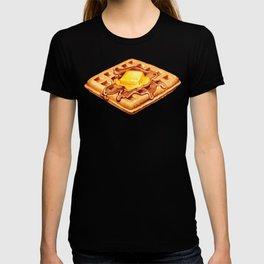 Waffle Pattern T-shirt