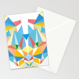 Diamond Kaleidoscopic Cat Stationery Cards
