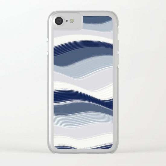 Abstract 112 Clear iPhone Case