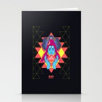 om Stationery Cards featuring Om by RJ Artworks
