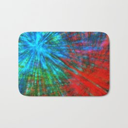 Abstract Big Bangs 001 Bath Mat