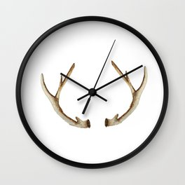 Antler Wall Clock
