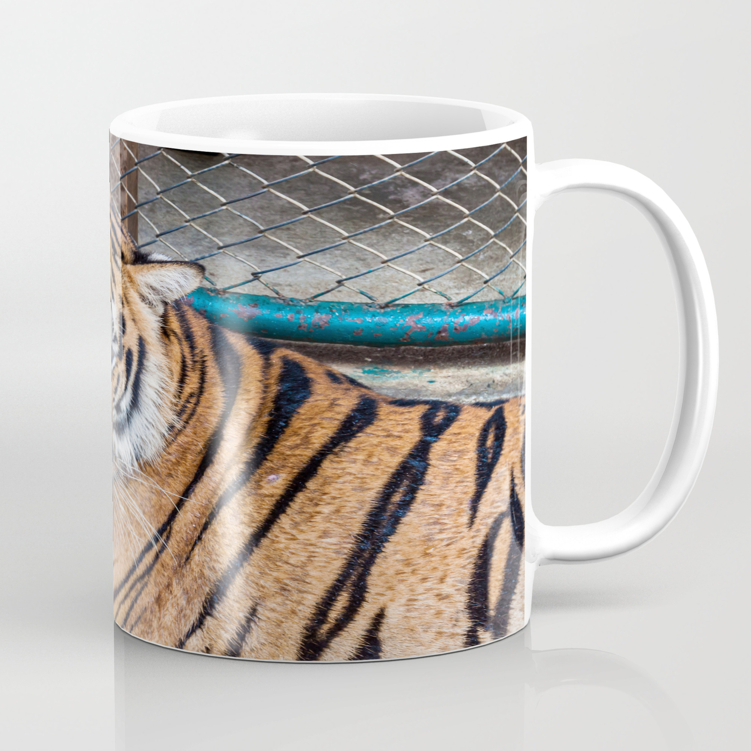 Tiger, My Bottom is Not Made Out of Springs Coffee Mug by jenniferstinson