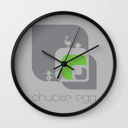Chuckie Egg Wall Clock