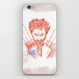 The Wolverine  iPhone Skin