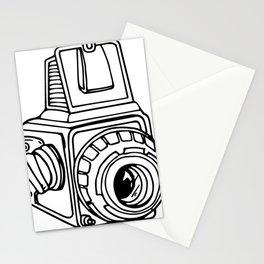 Medium Format SLR Camera Drawing Stationery Cards