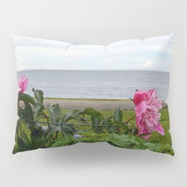 Flowers and the Sea Pillow Sham