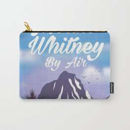 Mount Whitney vintage Travel poster Carry-All Pouch