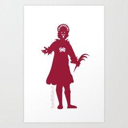 Sant'Efisio sempre con te. Art Print