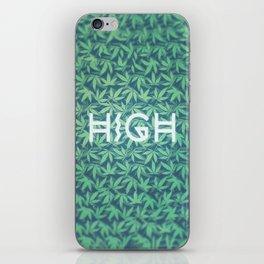 HIGH TYPO! Cannabis / Hemp / 420 / Marijuana  - Pattern iPhone Skin