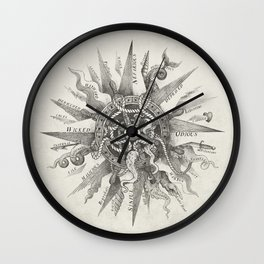 The Immoral Compass Wall Clock