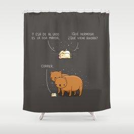 La Osa Mayor Shower Curtain