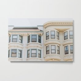 North Beach Blues in San Francisco Metal Print
