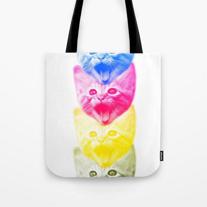 CMYKat Tote Bag