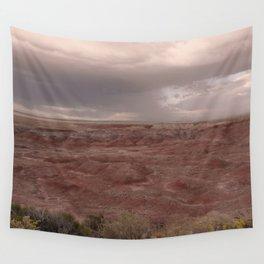 Desert Rain Clouds Wall Tapestry