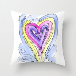 Flow Series #14 Throw Pillow