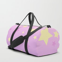 Magic stars background Duffle Bag