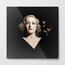 Joan Crawford Metal Print