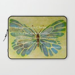2 Corinthians 5:17 Laptop Sleeve